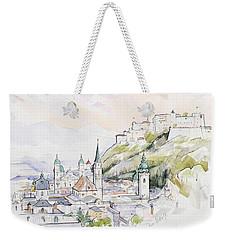 Salzburg Sunrise  Weekender Tote Bag