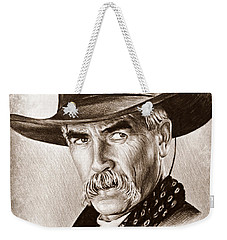Sam Elliot The Lone Rider Weekender Tote Bag