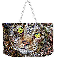 Sam The Tabby Cat Weekender Tote Bag