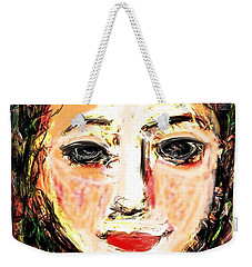 Samantha Weekender Tote Bag by Elaine Lanoue