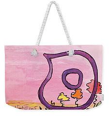 Samech And Flowers Weekender Tote Bag