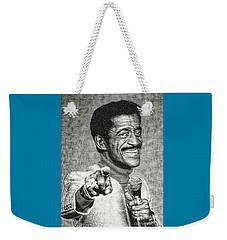 Sammy Davis Jr - Entertainer Weekender Tote Bag