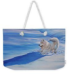 Samoyed Weekender Tote Bag