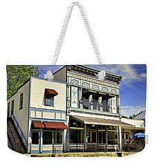 Samuel Hackmann Building Weekender Tote Bag by Cricket Hackmann