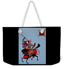 Samurai Warrior #4 Weekender Tote Bag