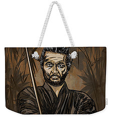 Samurai Warrior. Weekender Tote Bag