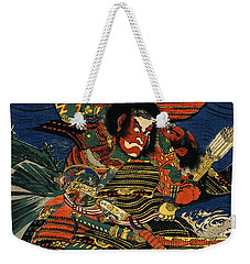 Samurai Warriors Battle 1819 Weekender Tote Bag