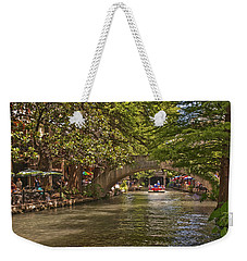 San Antonio Riverwalk Weekender Tote Bag by Steven Sparks