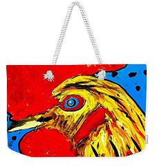 San Antonio Rooster Weekender Tote Bag