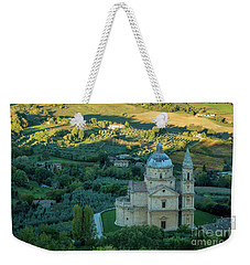 Weekender Tote Bag featuring the photograph San Biagio Church by Brian Jannsen