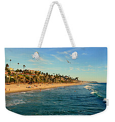Weekender Tote Bag featuring the photograph San Clemente Coastline - California by Glenn McCarthy Art and Photography