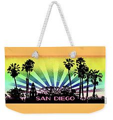 San Diego - Balboa Park Silhouette Weekender Tote Bag