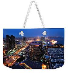 San Diego Bay Weekender Tote Bag
