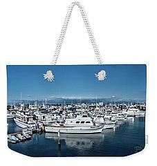 San Diego Marina And City Skyline Weekender Tote Bag by Daniel Hebard