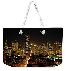 San Francisco At Night Weekender Tote Bag