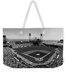 San Francisco Ballpark Bw Weekender Tote Bag