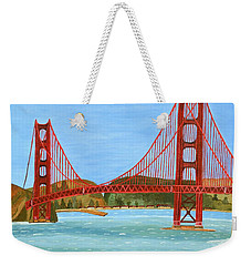 San Francisco Bridge  Weekender Tote Bag