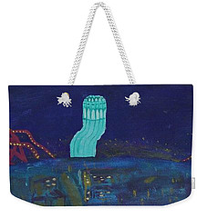 San Francisco Coit Tower Abstract Weekender Tote Bag