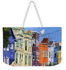 San Francisco Colorful Buildings Weekender Tote Bag