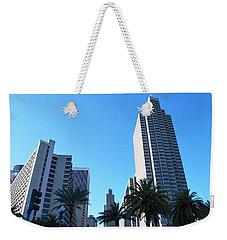 San Francisco Embarcadero Center Weekender Tote Bag by Matt Harang