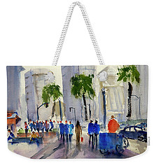 San Francisco Embarcadero Weekender Tote Bag by Tom Simmons
