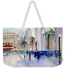 San Francisco Embarcadero1 Weekender Tote Bag by Tom Simmons