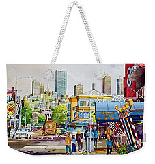 San Francisco Fisherman's Wharf Weekender Tote Bag