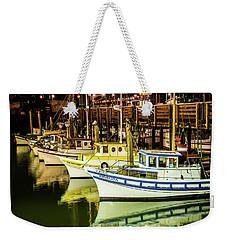 San Francisco Fisherman's Wharf Weekender Tote Bag
