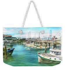 San Francisco Fishing Boats Weekender Tote Bag