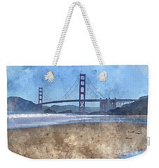 San Francisco Golden Gate Bridge In California Weekender Tote Bag