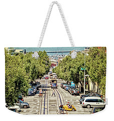 San Francisco Hyde Street View Weekender Tote Bag