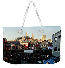 San Francisco In The Sun Weekender Tote Bag by Tony Mathews