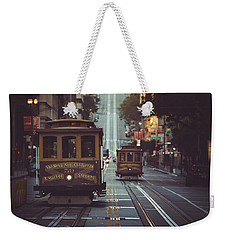 San Francisco Weekender Tote Bag by JR Photography