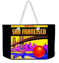 San Francisco Oranges Weekender Tote Bag by Peter Gumaer Ogden