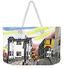 San Francisco Side Street Weekender Tote Bag