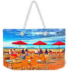San Francisco Skyline From Alameda  Weekender Tote Bag