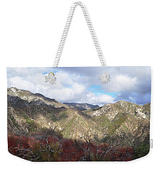 San Gabriel Mountains National Monument Weekender Tote Bag by Kyle Hanson