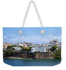 Weekender Tote Bag featuring the photograph San Juan #1 by Lois Lepisto