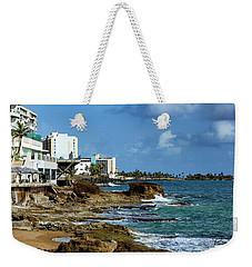 San Juan Bay In Puerto Rico Weekender Tote Bag