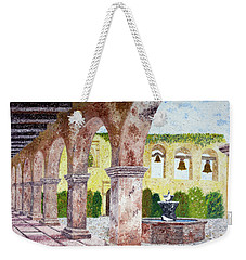 San Juan Capistrano Courtyard Weekender Tote Bag