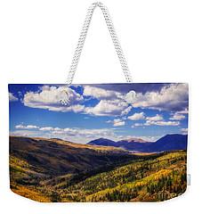 San Juan Colors Weekender Tote Bag by Janice Rae Pariza