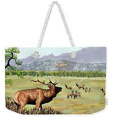 San Juan Elk Vista Weekender Tote Bag