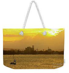San Juan Harbor Sunset Weekender Tote Bag