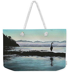 Weekender Tote Bag featuring the painting San Juan Sentinel by Kim Lockman