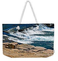 San Marcos River Waterfall  Weekender Tote Bag