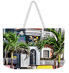 Weekender Tote Bag featuring the photograph San Pedro Town Plaza by Lawrence Burry