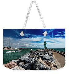 San Vincenzo Molo Del Marinaio - Mariner Pier Weekender Tote Bag