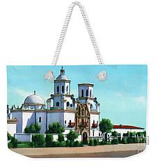 San Xavier Del Bac Mission Weekender Tote Bag