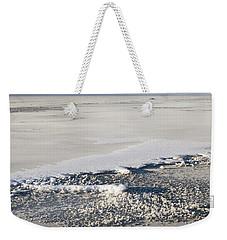 Sand And Snow In Southeast Alaska Weekender Tote Bag