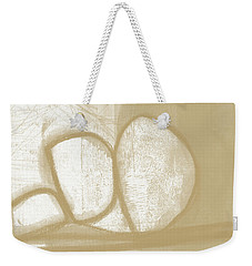 Sand And Stone 1- Contemporary Abstract Art By Linda Woods Weekender Tote Bag